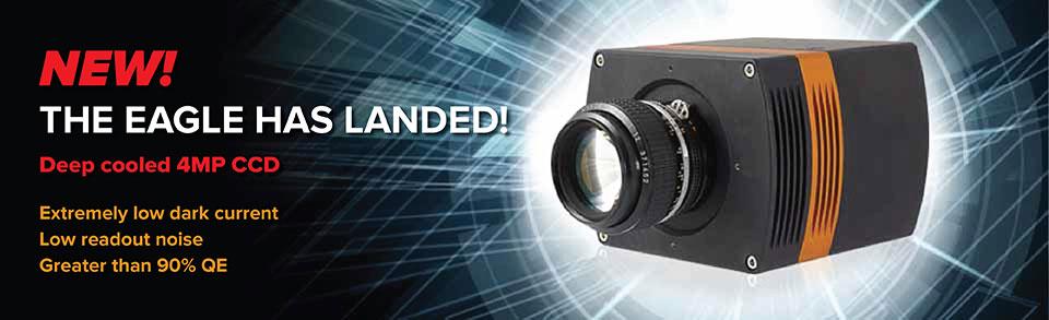 Deep cooled 4MP CCD camera