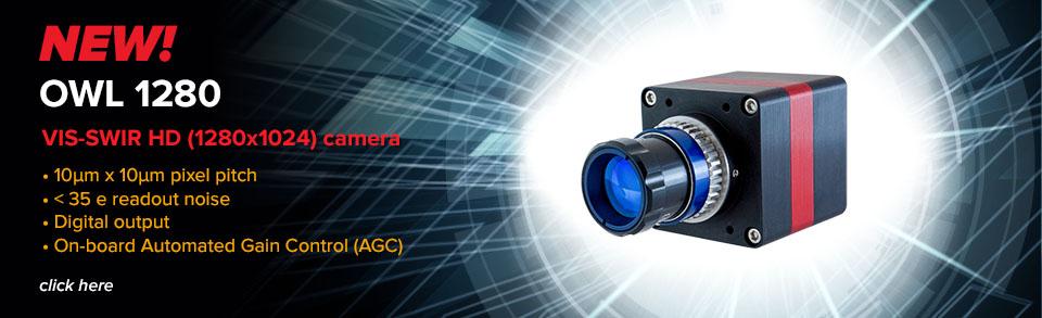 VIS-SWIR HD (1280 x 1024) camera